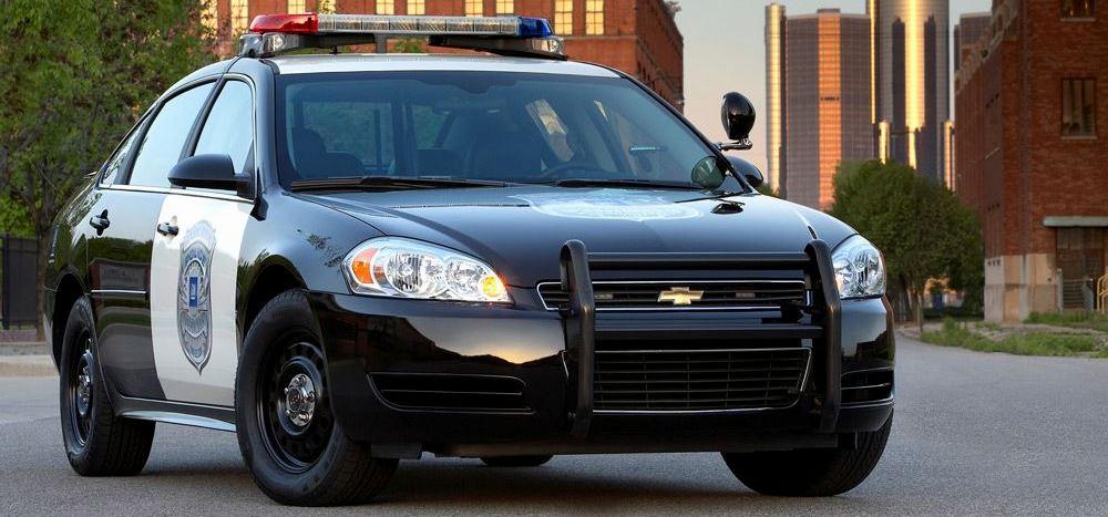 Chevrolet Impala в полицейской версии