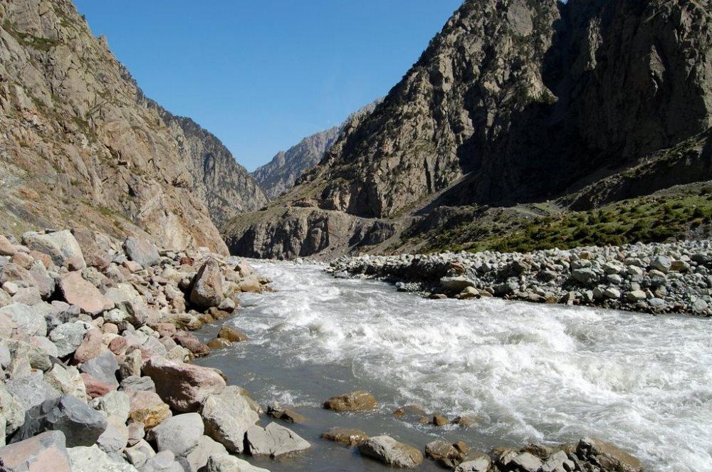 картинки горной реки терек построен шасси заднеприводной