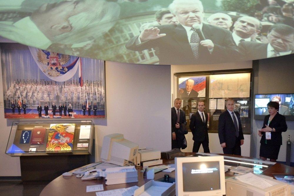 внутри музея Ельцина