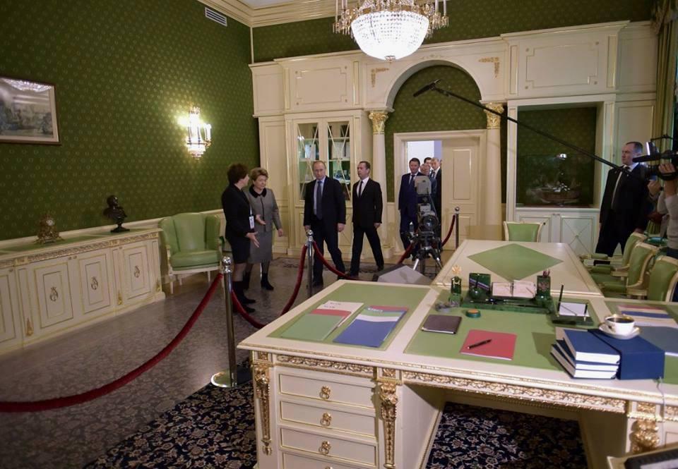 кабинет президента