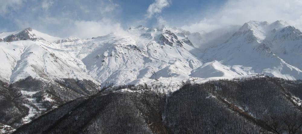 пейзаж национального парка Аревик