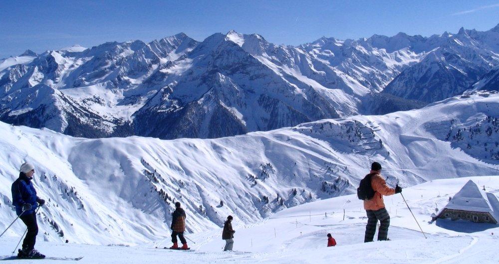 фото горнолыжного курорта в Австрии