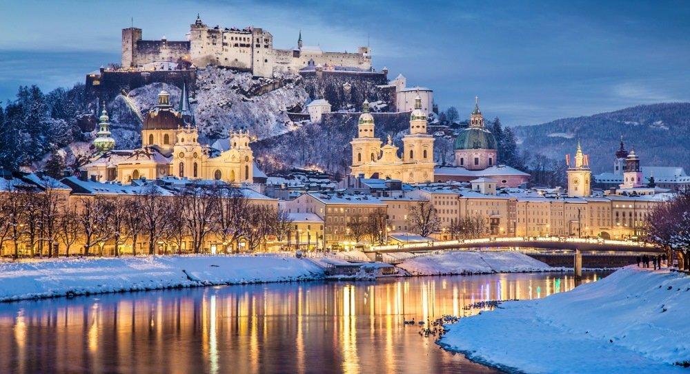 фото Зальцбурга в Австрии