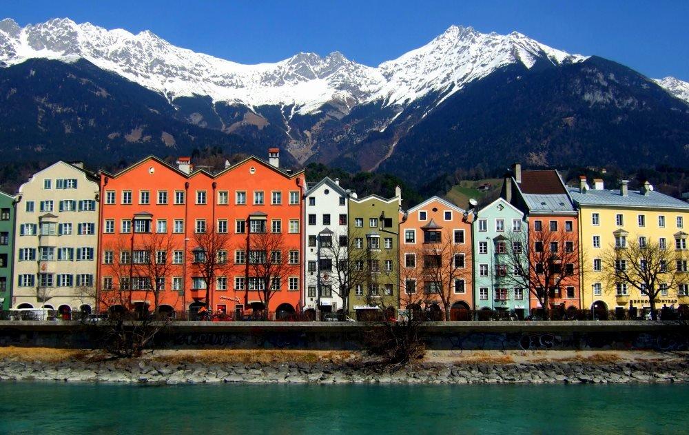 фото Инсбрука в Австрии