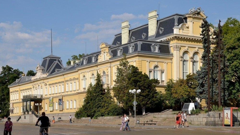 фото Национальной художественной галери Болгарии