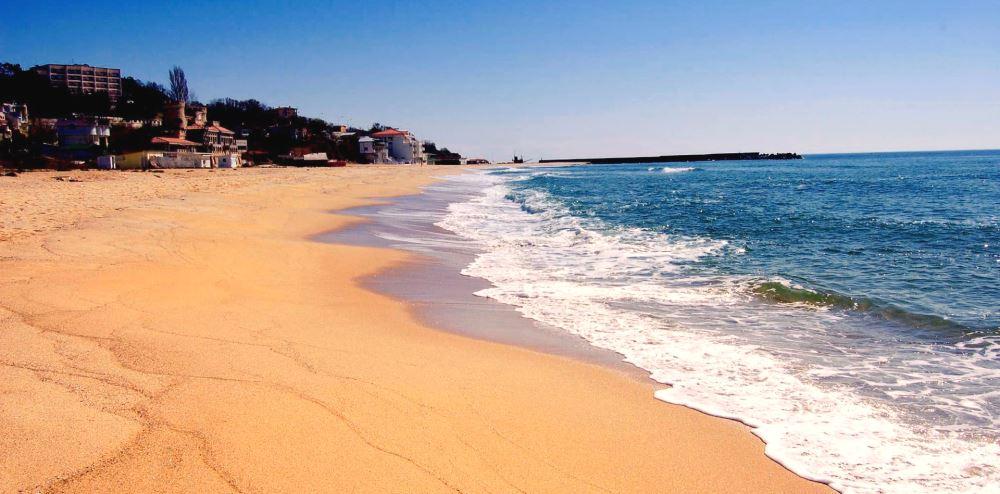 пляж Золотые Пески в Болгарии