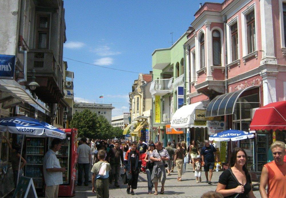 шоппинг в Бургасе в Болгарии
