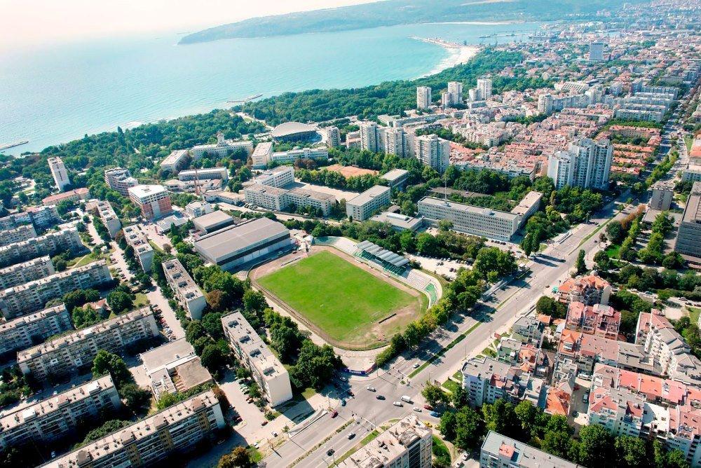 фото города Бургас в Болгарии