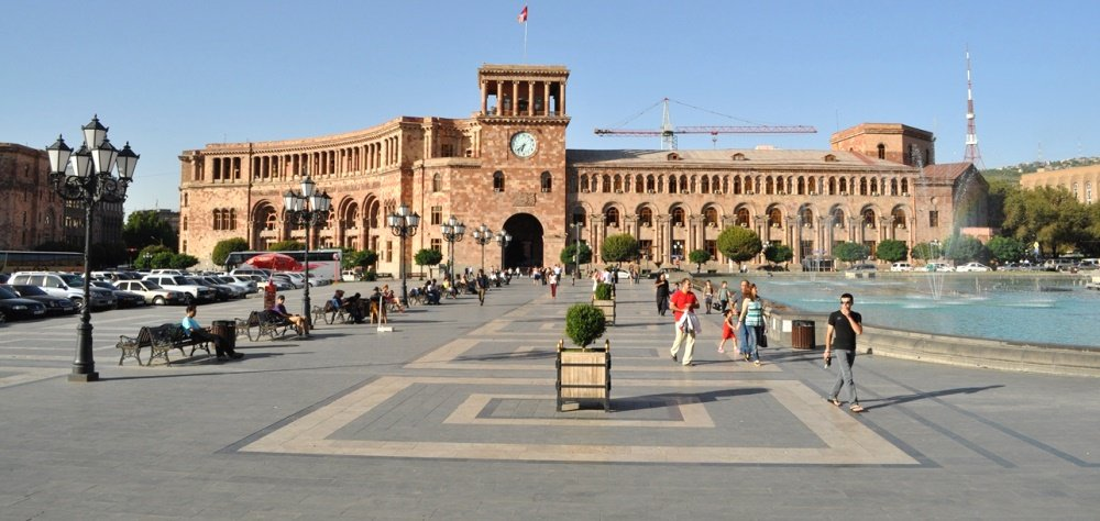 площадь Республики на фото