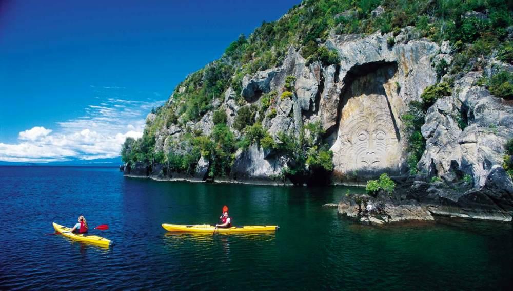 озеро Таупо, фото достопримечательности