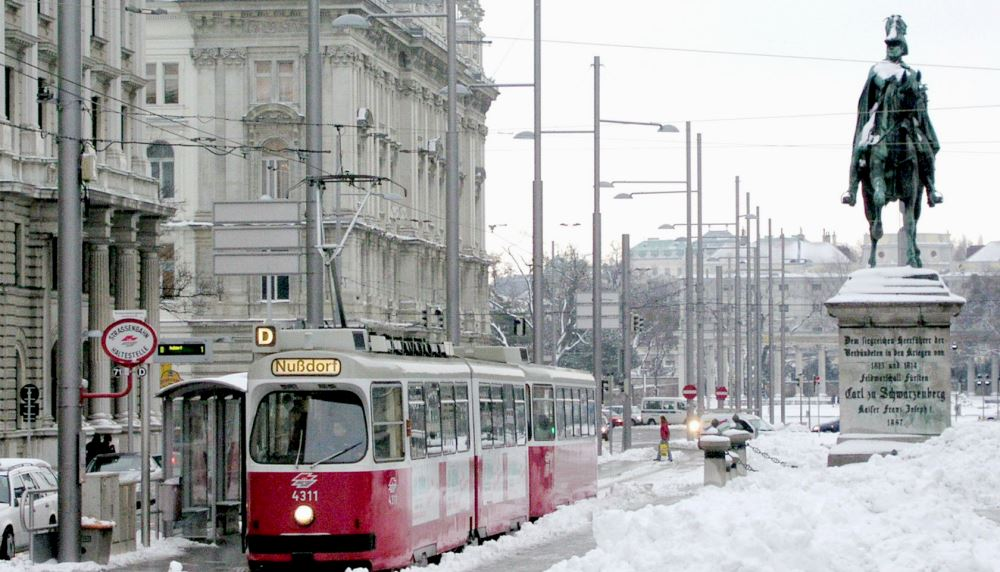фото Вены зимой