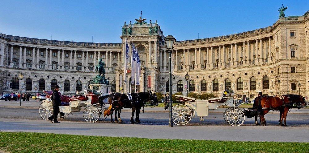 фотография Хофбурга в Вене