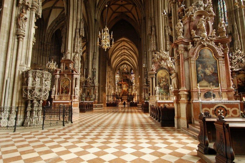 Внутри Собора Святого Стефана