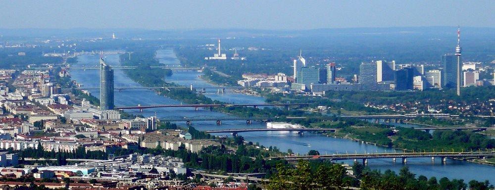 река Дунай в Вене