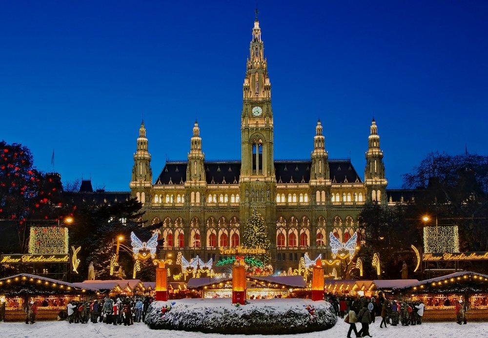 фото Вены на рождество
