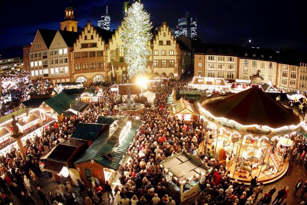 рождество в столице Австрии