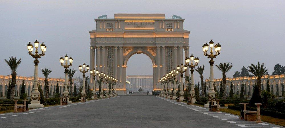 фото города Гянджа в Азербайджане