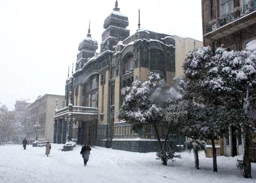 фото Баку зимой