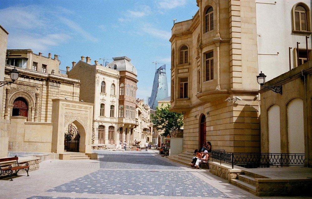 фото старого Баку, Ичери-шехер