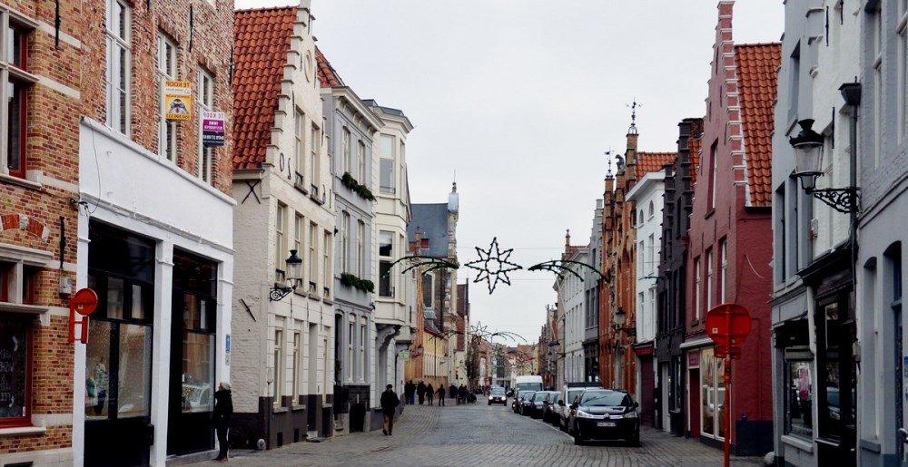 фотография улицы Брюгге