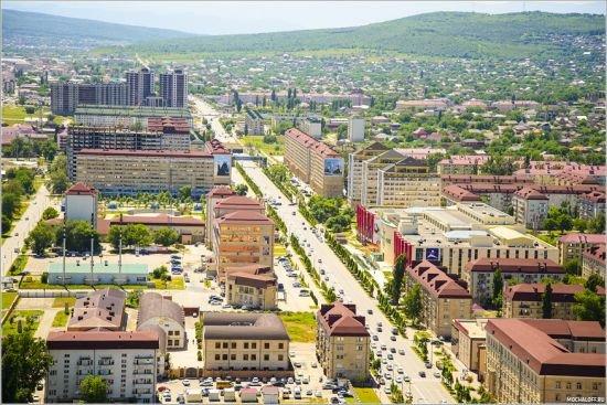 проспект Ахмата Кадырова на фото