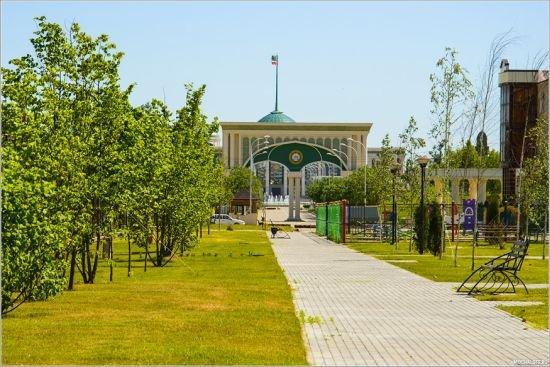 Резиденция главы Чеченской Республики