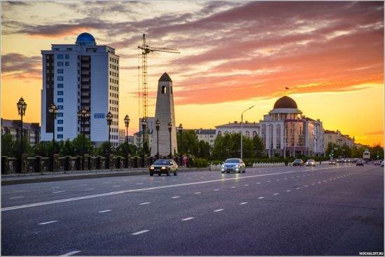 фото центра города Грозный