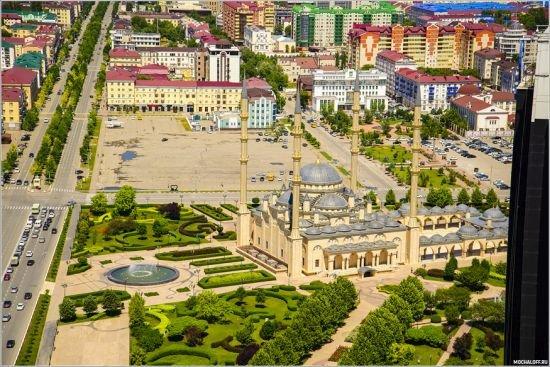 Мечеть Сердце Чечни в Грозном
