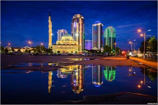 фотография мечети Сердце Чечни