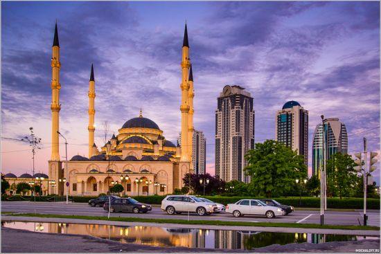 Сердце Чечни, мечеть в городе Грозном