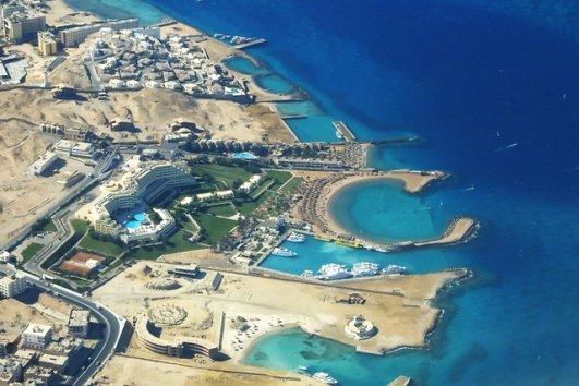 отели на берегу Красного моря в Египте