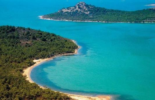 красивая фотография моря в Турции
