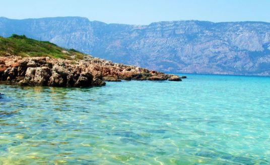 фото Эгейского моря в Турции