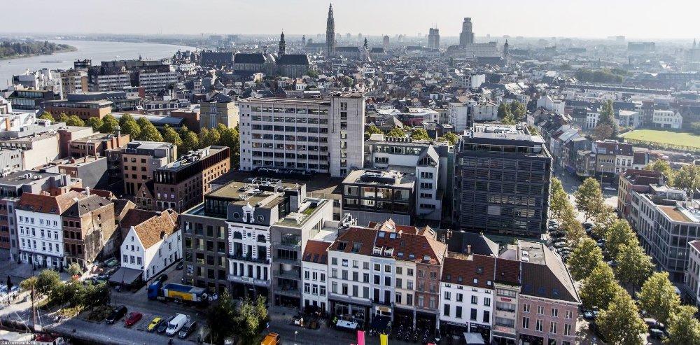 Антверпен в Бельгии на фото