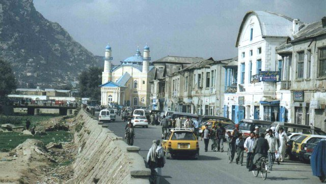 фото одной из улиц Кабула