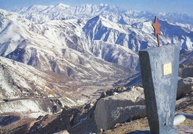 памятник войне в Афганистане