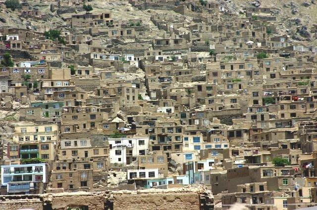 типичный афганский город