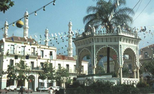 город Блида в Алжире