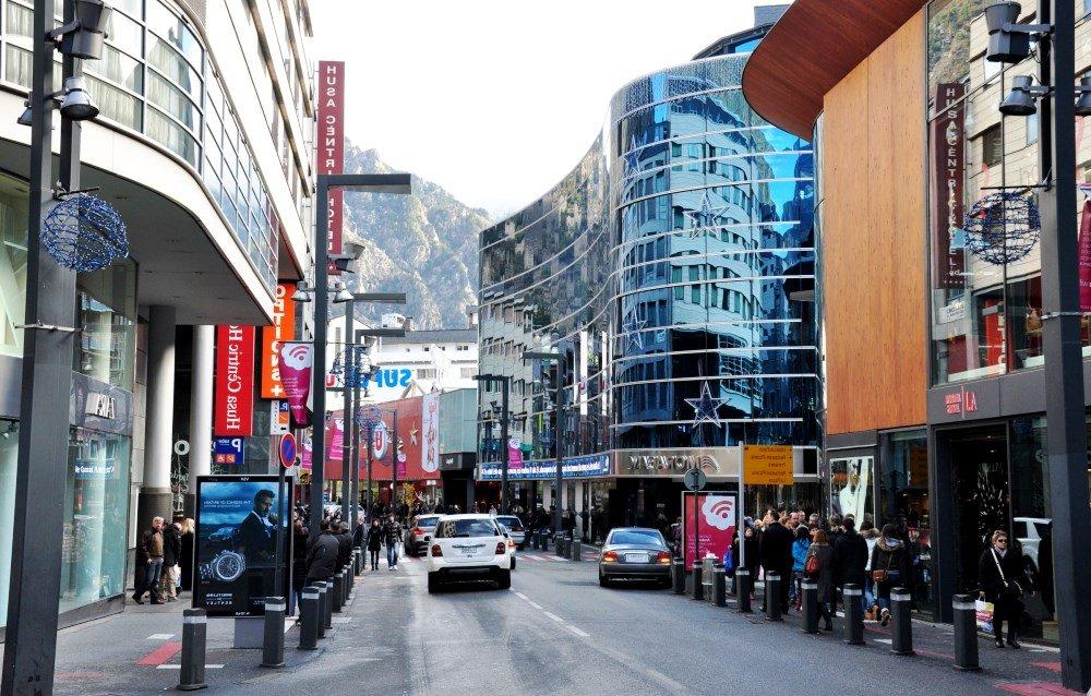 Одна из центральных городских улиц