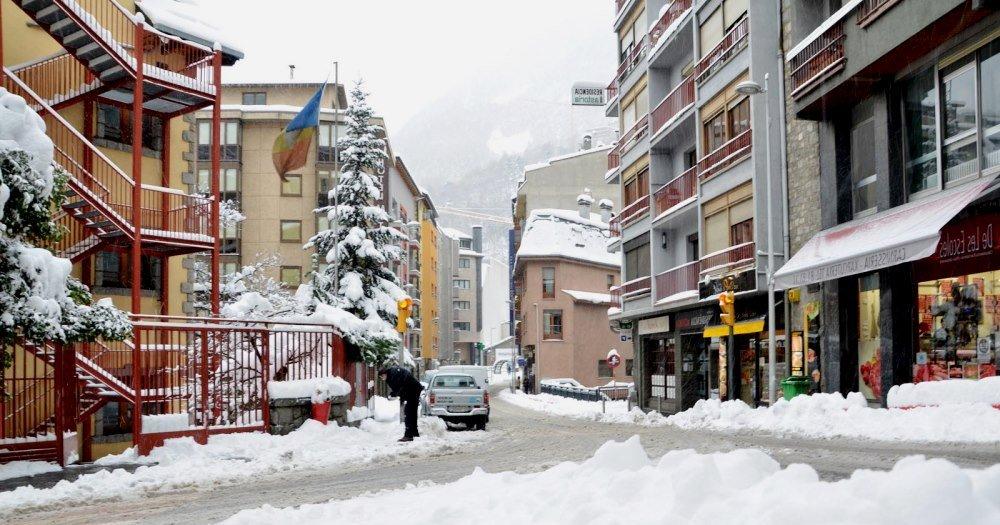 фотография улицы зимой