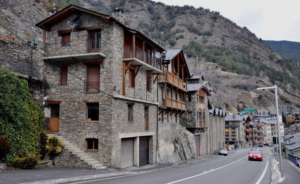 атмосфера жизни горных улиц