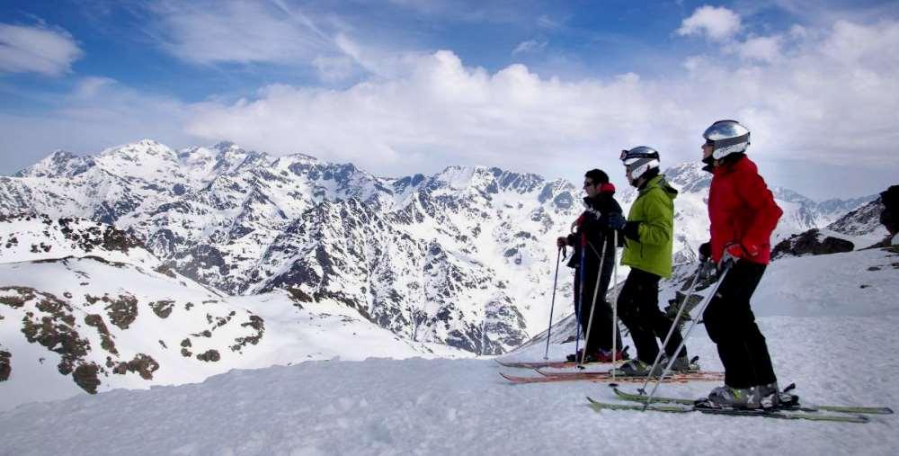 горнолыжный курорт в Андорре