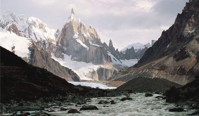 Лос-Гласьярес в Аргентине