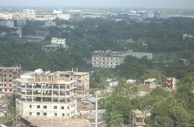 Обзорный вид города Читтагонга