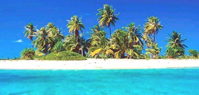 Вид на Барбадос со стороны моря