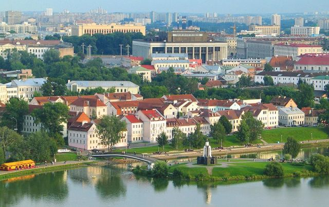 фото столицы Беларуси