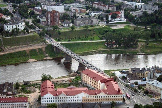 городской вид Гродно