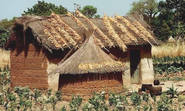 традиционная деревня в Бенине