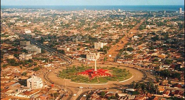 Котону, крупнейший город Бенина