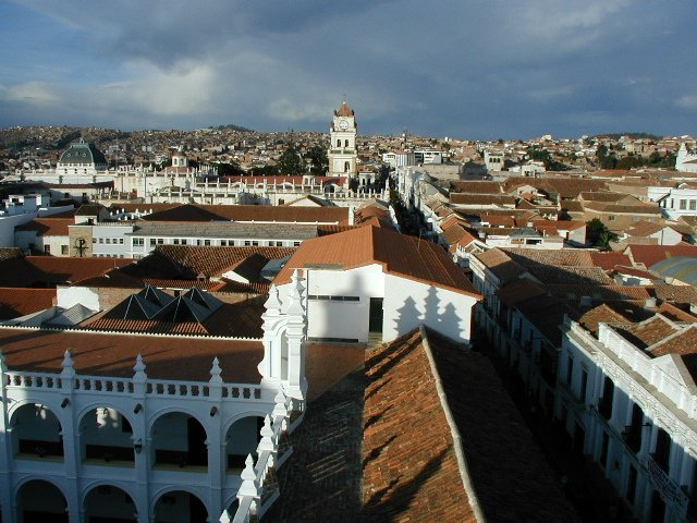 столица Боливии Сукре